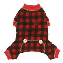 Lumberjack Fleece Dog Jumper By Hip Doggie
