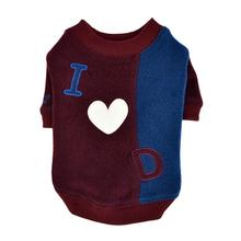 Luv Dog Dog Shirt by Puppia - Burgundy