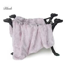 Luxe Dog Blanket by Hello Doggie - Blush