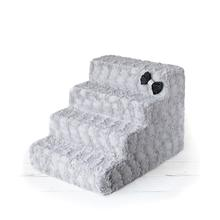 Luxury Pet Stairs by Hello Doggie - Dove Grey