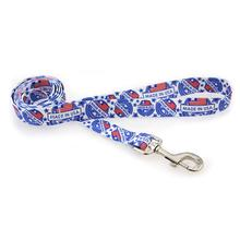 Made in USA Dog Leash by Yellow Dog - White