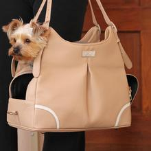 Madison Mia Michele Mocha Dog Carry Bag by Doggie Design