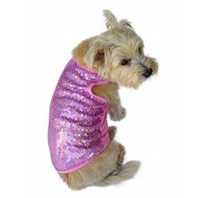 Malibu Dream Sequin Dog Tank - Pink