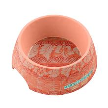 Margaritaville Hawaiian Tropic Dog Bowl by TarHong - Coral