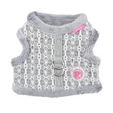 Margaux Jacket Dog Harness By Pinkaholic - Grey