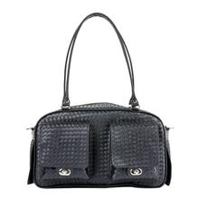 Marlee Dog Carrier by Petote - Black Woven
