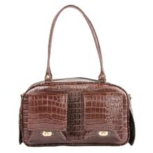 Marlee Dog Carrier by Petote - Brown Croco