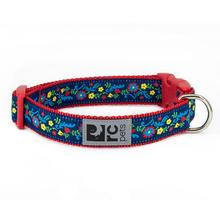 Feeling Folksy Adjustable Clip Dog Collar By RC Pets