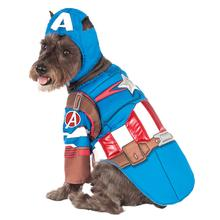 Marvel Deluxe Captain America Dog Costume