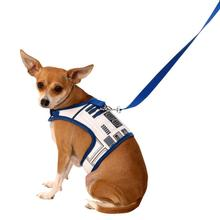 Star Wars R2D2 Dog Harness and Leash Set