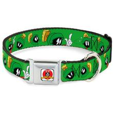Marvin the Martian Seatbelt Buckle Dog Collar by Buckle-Down