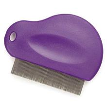 Master Grooming Tools Flea Comb for Dogs and Cats - Purple