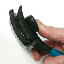 Master Grooming Tools Self-Cleaning Slicker Brush