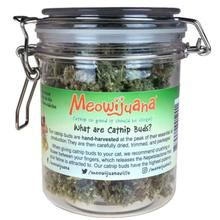 Meowijuana Catnip Buds Jar - Purple Passion