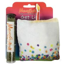 Meowijuana Get Lit Refillable Birthday Cake Cat Toy