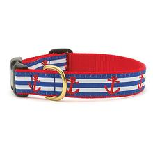 Anchors Aweigh Dog Collar by Up Country