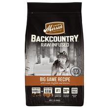 Merrick Backcountry Raw-Infused Grain-Free Dry Dog Food - Big Game Recipe