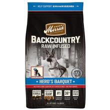 Merrick Backcountry Raw-Infused Grain-Free Dry Dog Food - Hero's Banquet Recipe