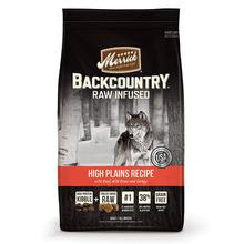 Merrick Backcountry Raw-Infused Grain-Free Dry Dog Food - High Plains Recipe