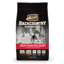 Merrick Backcountry Raw-Infused Grain-Free Dry Dog Food - Great Plains Red Recipe