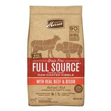 Merrick Full Source Grain-Free Raw-Coated Kibble with Real Beef & Bison Dry Dog Food
