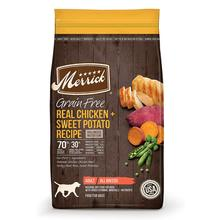 Merrick Grain-Free Dry Dog Food - Real Chicken & Sweet Potato Recipe