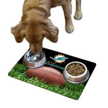 Miami Dolphins Pet Bowl Mat