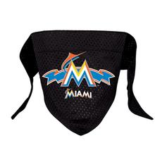 Miami Marlins Mesh Dog Bandana