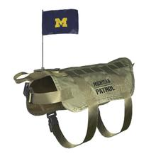 Michigan Wolverines Tactical Vest Dog Harness