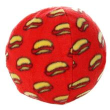 Mighty Ball Dog Toy - Red Hot Dogs