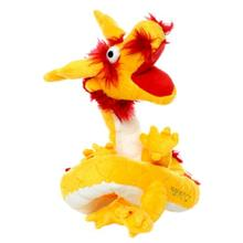 Mighty Dragon Dog Toy - Yellow