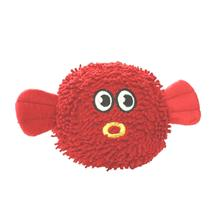 Mighty Microfiber Ball Dog Toy - Blowfish