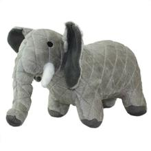 Mighty Safari Dog Toy - Ellie the Gray Elephant