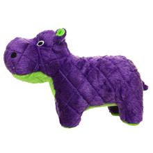 Mighty Safari Dog Toy - Herb the Purple Hippo