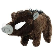 Mighty Safari Dog Toy - Warthog in Brown
