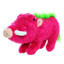 Mighty Safari Dog Toy - Warthog in Pink