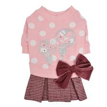 Mignon Dog Dress by Pinkaholic - Pink