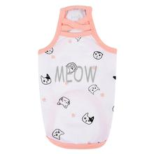 Mimi Cat Tank Top by Catspia - Off White