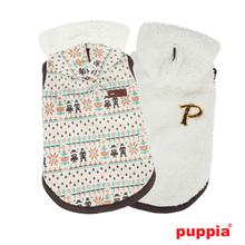 Mingle Reversible Dog Hoodie by Puppia - Ivory
