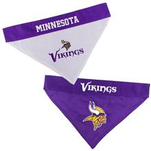 Minnesota Vikings Reversible Dog Bandana Collar Slider