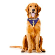 Minnesota Vikings Tie On Dog Bandana
