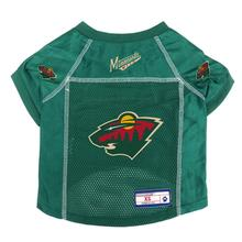 Minnesota Wild Mesh Dog Jersey - Green