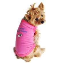 Miss Chevious Designer Dog Tank by Doggie Design
