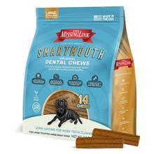The Missing Link Smartmouth Dental Chews for Large/X-Large Dogs