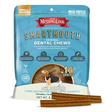 The Missing Link Smartmouth Dental Chews for Small/Medium Dogs