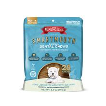 The Missing Link Smartmouth Dental Chews for X-Small Dogs