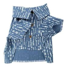 Riviera Chambray Dog Shirt by Dog Threads