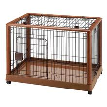 Mobile Pet Pen 940 by Richell - Autumn Matte
