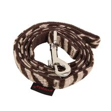 Modern Zebra Dog Leash by Puppia - Brown