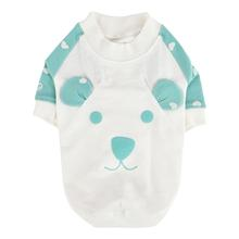 Mon Ours Dog Shirt by Pinkaholic - Mint